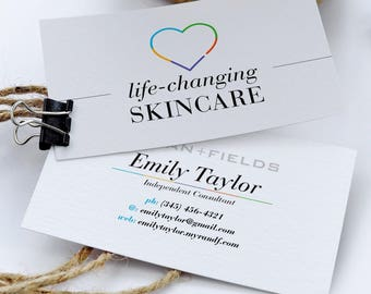 Rf business card etsy search results favorite favorited add to added rodan and fields business cards skincare colourmoves