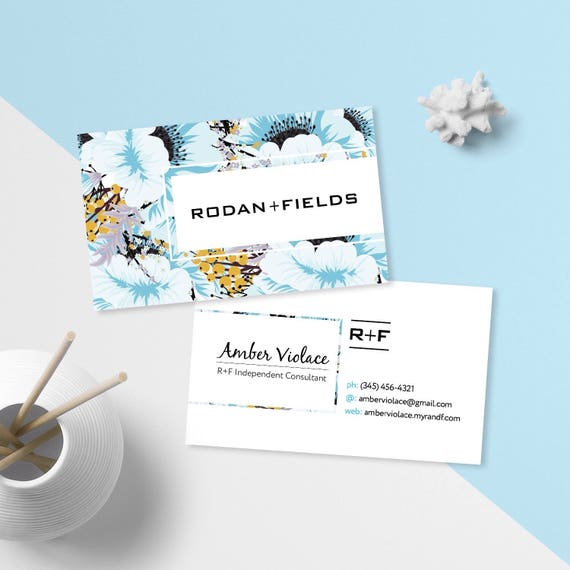 rodan and fields business cards