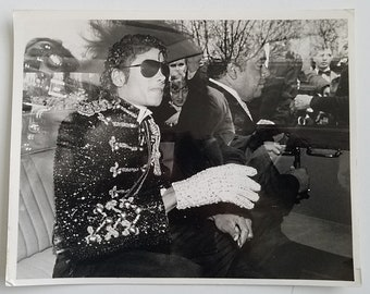 Original Press Photo Michael Jackson 1985