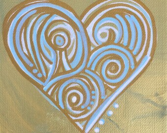 Heart Mini Painting