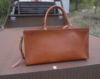 Bridle Leather Duffel Bag