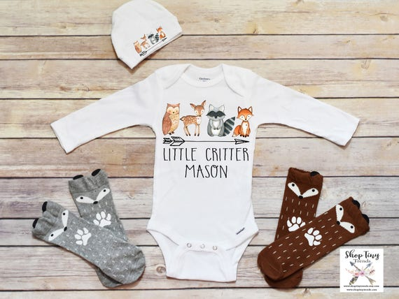 82cc49c637fe Boho Baby Clothes Baby Boy Clothes Personalized Baby Gift