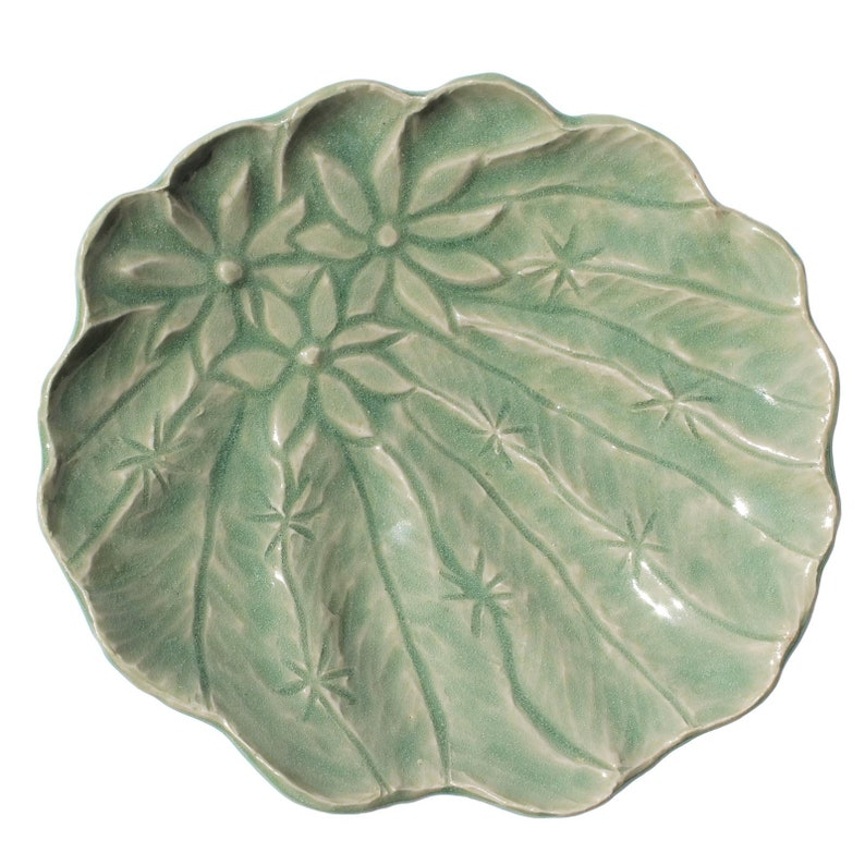 Sponge /& Accessory Dish Green Barrel Cactus Soap