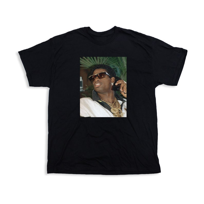 timeless design 11730 99ae0 Deion Sanders Primetime T-Shirt Classic 90s nfl mlb hall of fame
