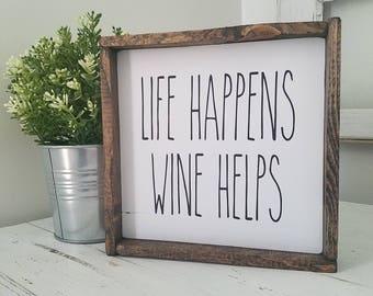Rustic wine decor | Etsy