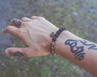 Mala Bracelet, Om or Choose Your Word Wrist Malas - Handmade Mala, Mala Bracelets, Mala Beads, Meditation Jewelry, Wrist Mala
