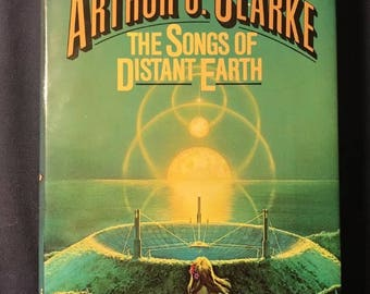 Vintage The Songs Of Distant Earth Hardcover Book 1986 First edition By Arthur C Clarke