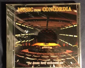 Music From Concordia Classical Music CD - Brand New Sealed From 1991