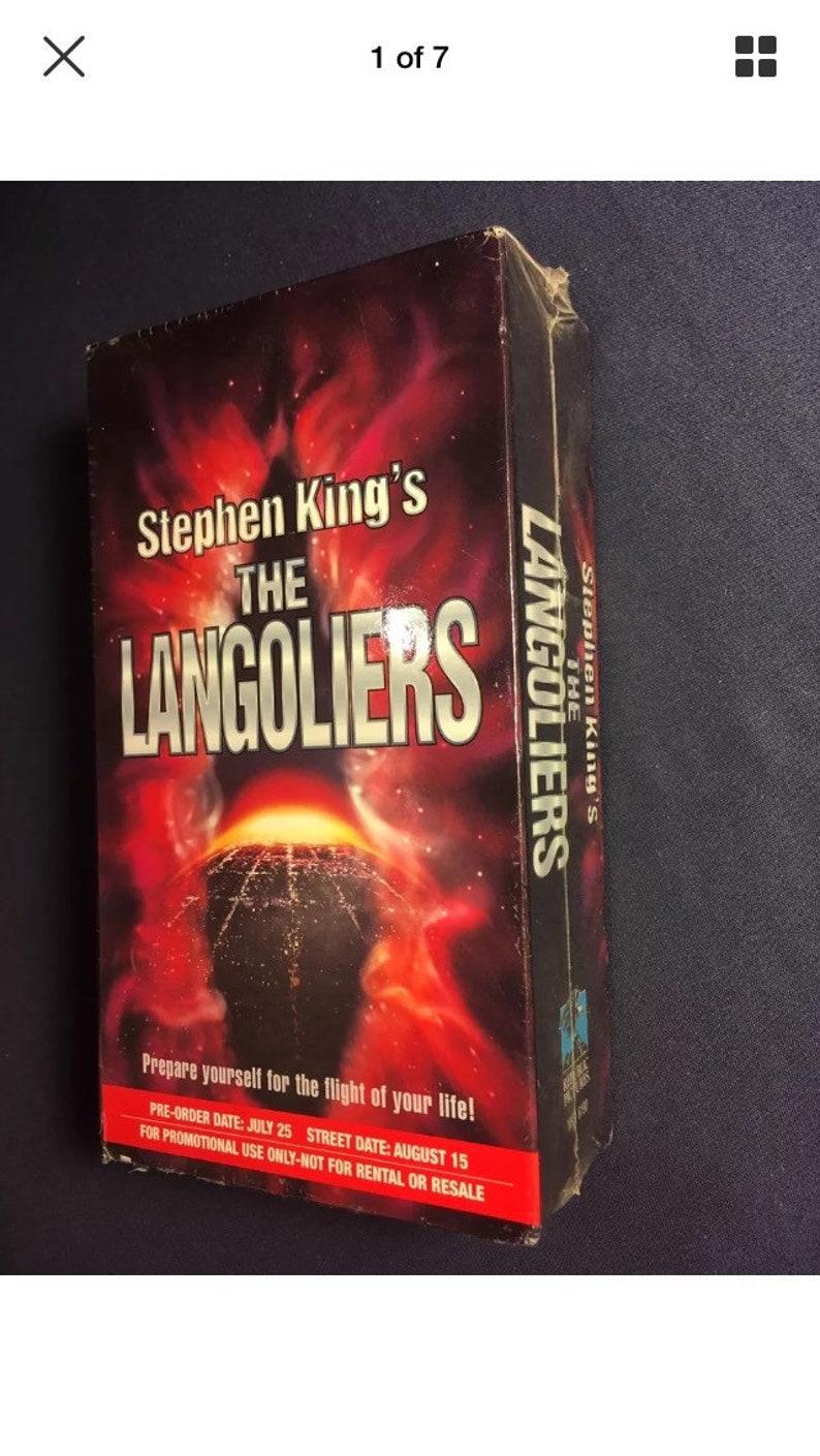 Stephen King Langoliers Book