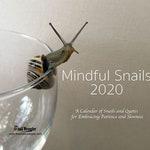 Mindful Snails 2020 Wall Calendar