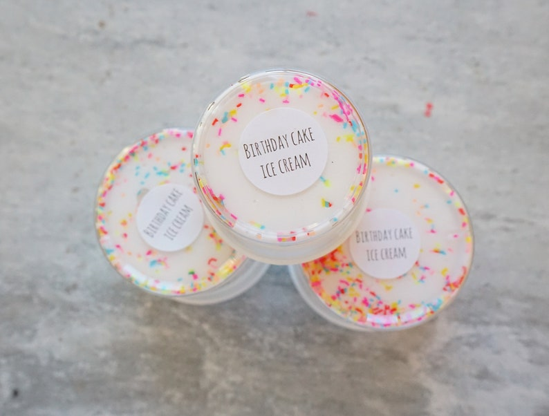 Birthday Cake Ice Cream Butter Slime By Dream Slimes Co