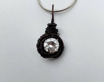 Oxidized Pendant