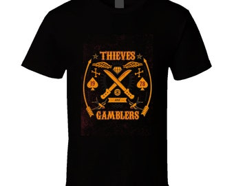 Thieves And Gamblers 1978 T Shirt