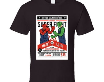 Brother Vs Brother Superfight T Shirt
