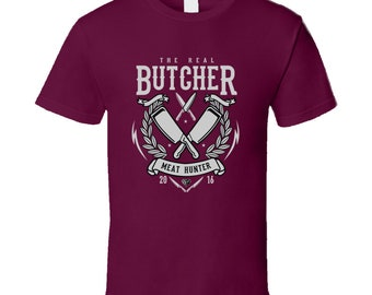 The Real Butcher Meat Hunter 2016 T Shirt