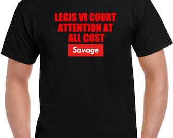 Legis 6 Court Attention T Shirt