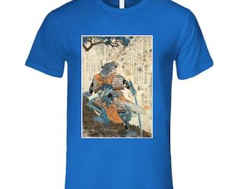 Samurai On Hilltop T Shirt