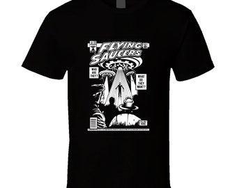 Flying Saucers T Shirt