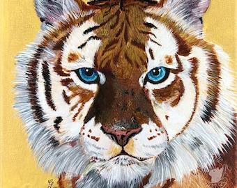 Tiger Painting Print