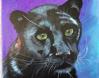 Original Panther Painting