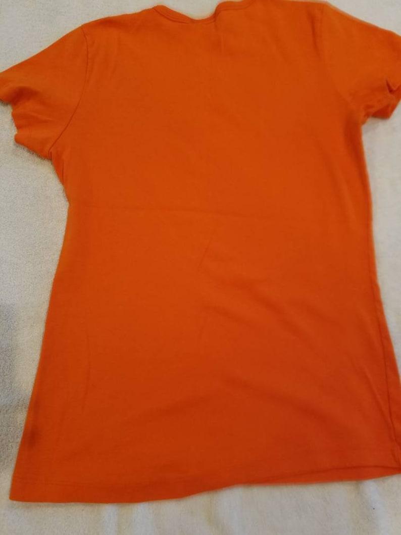 Clemson tiger paw shirt Clemson Tigers  ladies t shirt orange vintage Clemson logo ladies t-shirt vintage t-shirt