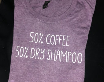 50 COFFEE 50% DRY SHAMPOO