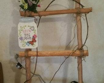 Hand made 3 foot ladder. Good for inside or outside