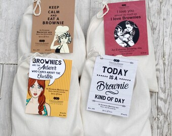 Chocolate, Brownie Mix, Brownie Recipe Easy, Fudge, Brownies, Brownie, Christmas Gift, Birthday Gift, Hostess gift, desserts, Valentine