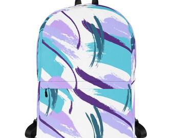 9b4ffa6645cc Nineties Hipster Pattern Backpack