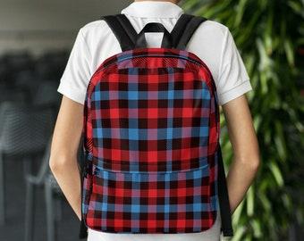 90 s Flannel Vintage Backpack f266bc961097b