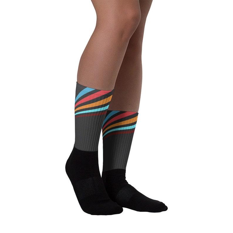 Retro Stripe Socks