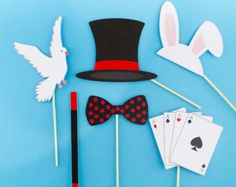 Kit 6 magic - magician - Magic photobooth accessories