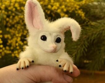Tiny Imp from Strange Magic,READY TO SHIP, monsters ooak handmade gift furry animal kawaii plush poseable doll