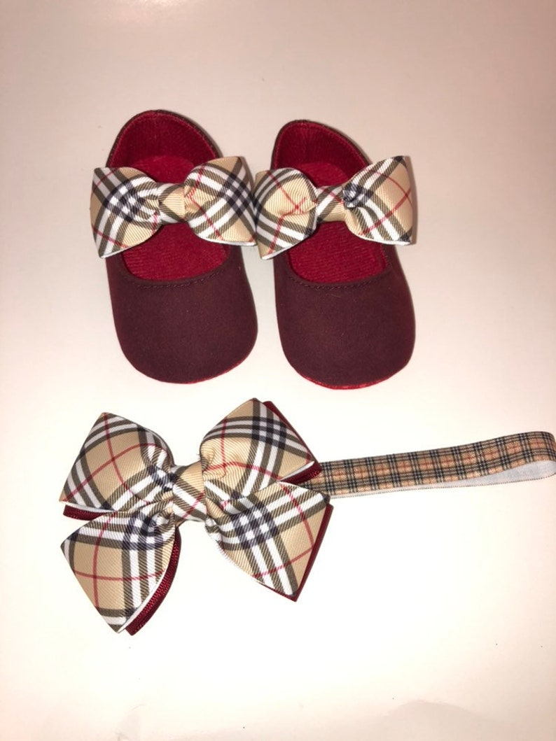 3deeeca9174 Baby shoes and headband . Baby girl shoes designer shoes