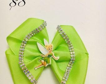 Tinker Bell hair clip
