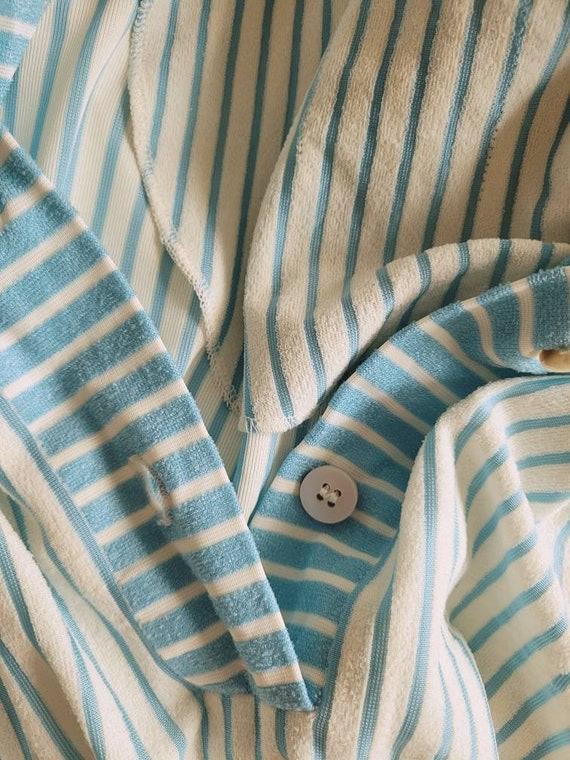 1970's Handmade Body Con T-shirt Dress - image 7