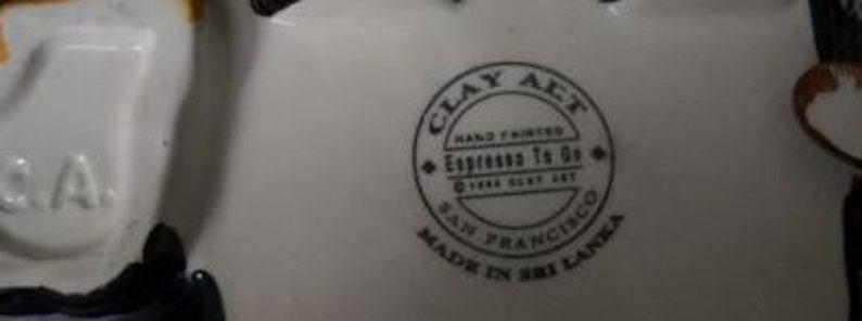 Clay Art /'Espresso to Go/' Teapot