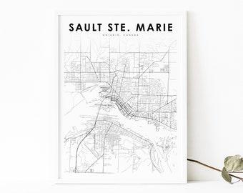 Sault Ste Marie Art Tile