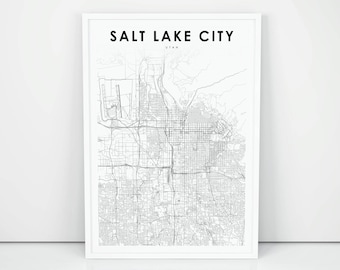 Salt lake city | Etsy