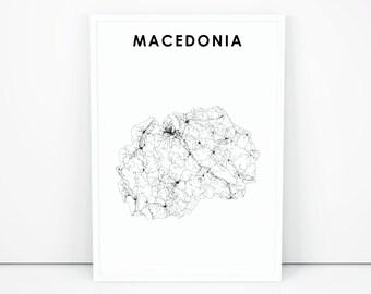 Alte Jugoslawien Karte.Karte Von Jugoslawien Etsy