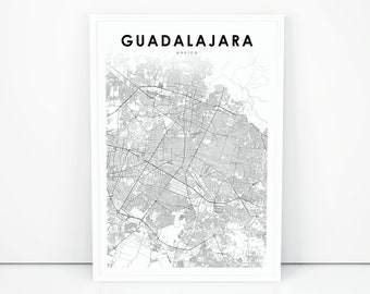 on jalisco mexico map