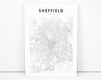 image regarding Printable Maps of England called British isles map Etsy