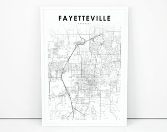 picture about Printable Map of Arkansas named Arkansas map Etsy