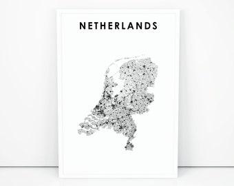 Netherlands poster | Etsy