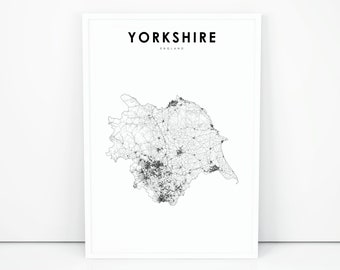image relating to Printable Maps of England identified as England map Etsy