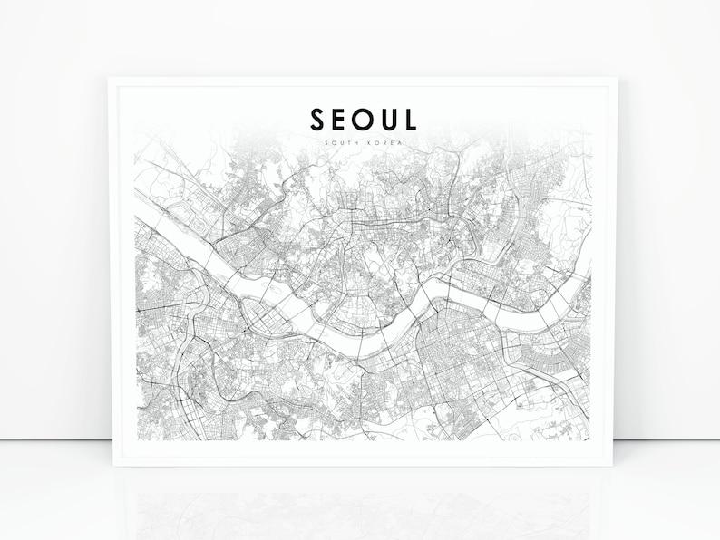 Seoul Map Print, South Korea Map Art Poster, 서울 한국 대한민국 on korea vegetation map, seoul korea map, korea night map, korea trip, korea home, korea south bongilcheon, korea area 1 map, korea maps in english, korea train map, korea city map, south korea map, korea relief map, korea road view, korea transportation map, korea weather, korea light map, korea topo map, korea food map, korea world map, korea country map,