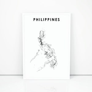 Merveilleux Philippines Map Print, Road Map Art Poster, Republika Ng Pilipinas, Asia  Map, Country Map Art, Nursery Room Wall Office Decor, Printable Map