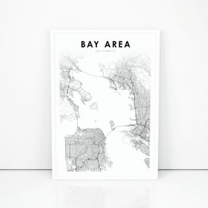 Tqyx Vrsnellym This map shows cities, towns, highways, main roads, secondary roads in san francisco bay area. 2