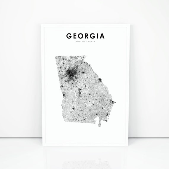 Georgia Map Print, State Road Map Print, GA USA United States Map Art on sugarloaf parkway 316 and map, bullock county ga map, sugarloaf ga map, georgia street map, ga highway map, georgia highway map, atlanta georgia map, ga state map, georgia county map, georgia state outline, the georgia state map, georgia state relief map, georgia state industrial map, georgia interstate map, colorado state map, georgia map cities ga, georgia land use map, georgia state map online, georgia state plane map, georgia road map detailed,