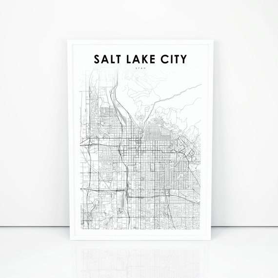 Salt Lake City Map Print, Utah UT USA Map Art Poster, City Street Road Salt Lake City Utah On Usa Map on salt lake city va map, snowbird utah map, sioux city iowa on usa map, salt lake city on a state map, salt lake city streetcar map, salt lake city utah area map, salt lake city with map of america, southern utah tourism map, salt lake city zip code map, sandy utah on usa map, utah airports map, snowbird mountains north carolina map, salt lake city on us map, great salt lake map, lake city street map, salt lake city parking map, utah road map, kansas city missouri on usa map, ogden utah on usa map,